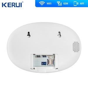 Image 3 - Kerui w20 2.4 inch tft tela colorida wifi gsm sistema de alarme de segurança em casa conjunto rfid cartão app controle detector de movimento assaltante alarme