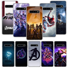 Avengers Endgame Case for Samsung Galaxy S10 S20 Ultra Lite NOTE 10 9 8 S9 S8 + S7 Edge J4 J6 J8 2018 Plus Phone Coque(China)