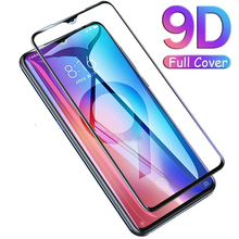 For redmi note 7 glass screen protector xiaomi safety for 9D HD Protective Glass On Redmi
