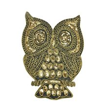 1Pc Owl Sequin Embroidered Patches For Clothing Iron On Applique Stripes Clothes Jean Animal Bird Motif Sewing Accessories(China)