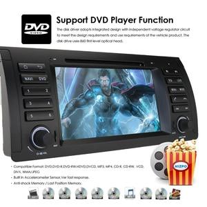 Image 3 - 2Din 7 DVD לרכב מולטימדיה נגן ראש יחידה עבור BMW E53 E39 X5 GPS Navi RDS SD USB היגוי גלגל שליטה מראה קישור Bluetooth