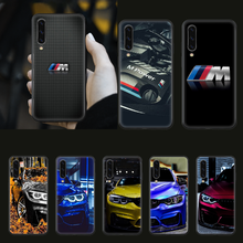 Blue Red Car for Bmw Phone Case cover hull For SamSung Galaxy A 3 5 7 10 20 30 40 50 51 70 71 e s plus black Funda Silicone