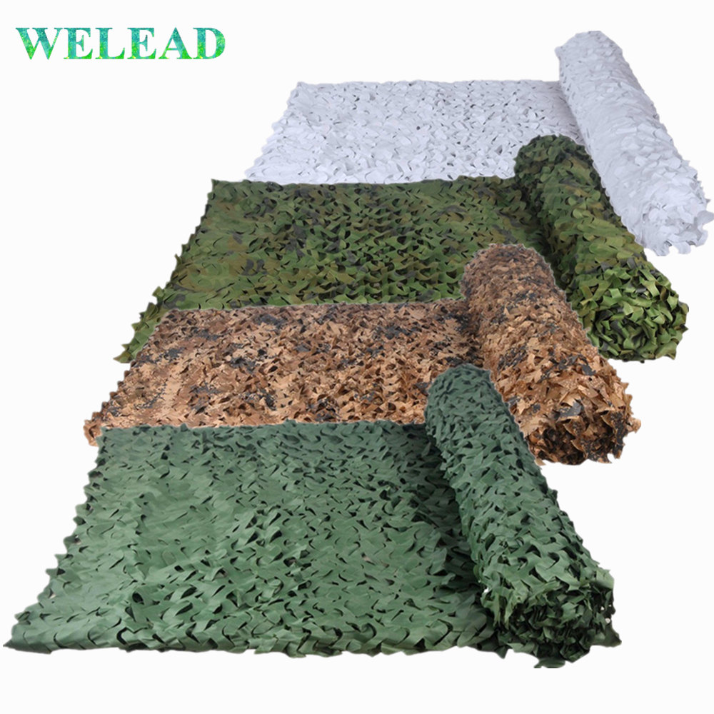 Large Size Camo Netting Reinforced Camouflage Nets White Desert Camo Network Garden Shade Cover Mesh 3x7 3x8 3x9 4x6 4x7 5x5 5x6