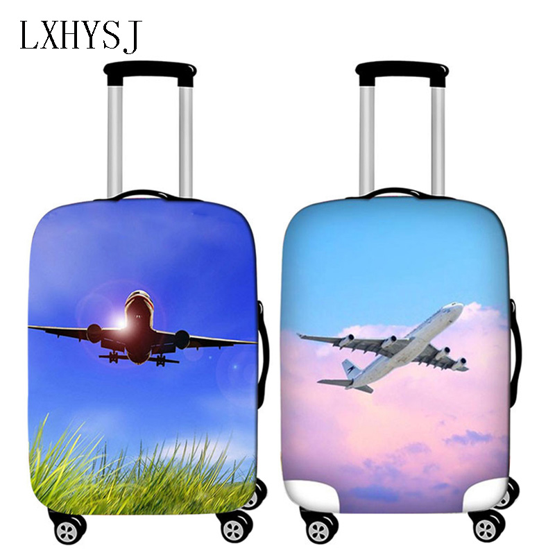 Travel Thickening Luggage Cover Elasticity Suitcase Case For 18-32 Inch Suitcase Trolley Dust Cover Travel Accessories New