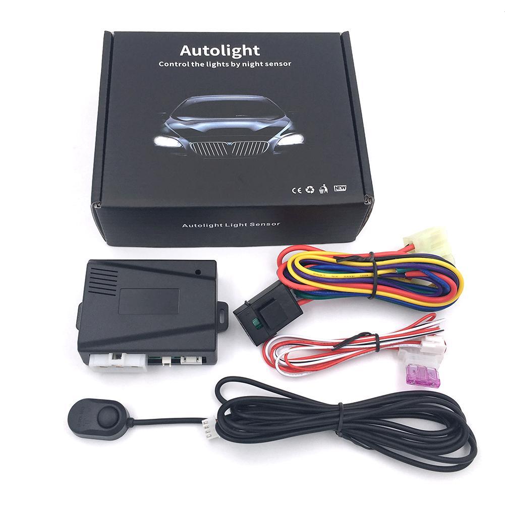 12V Универсальная автомобильная автоматическая система управления датчиком фар|Универсальный автомобильный держатель| | АлиЭкспресс