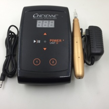 Dermografo, микроблейдинг, легко нажимается, Перманентный макияж, машинка для татуировки, ручка, мощный карандаш для бровей, губ, глаз с картриджем, игла