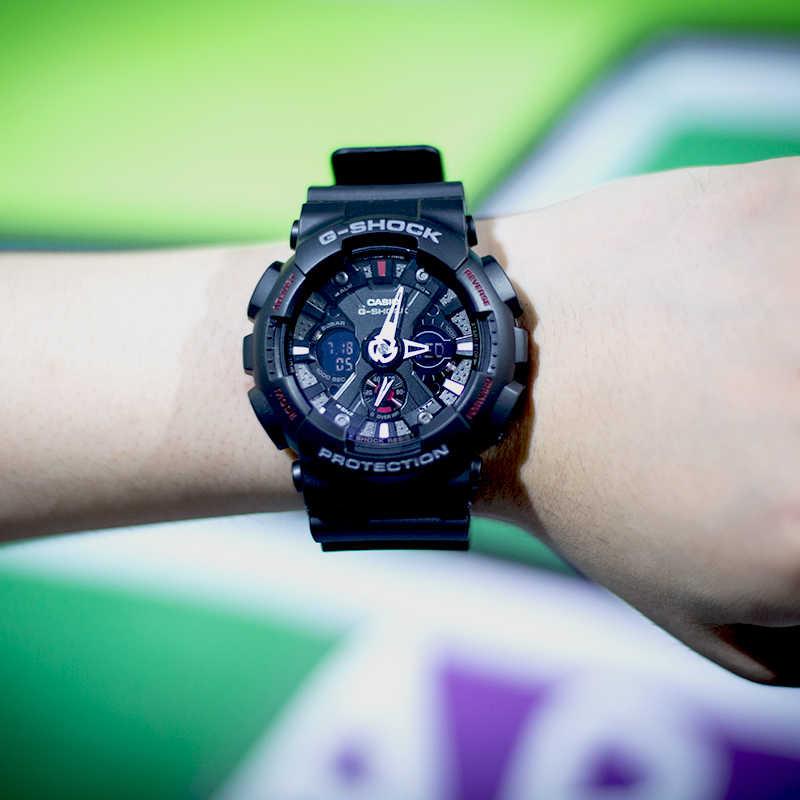 ساعة كاسيو G-SHOCK سلسلة متعددة الوظائف رياضية ساعة رجالي GA-120-1A