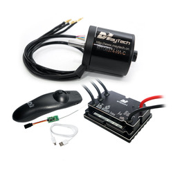 Maytech DIY Electric Skateboard Mountainboard Kit 6365 6374 170KV Brushless Motor 200A VESC Cheap Small Remote MTSKR1712 Combs