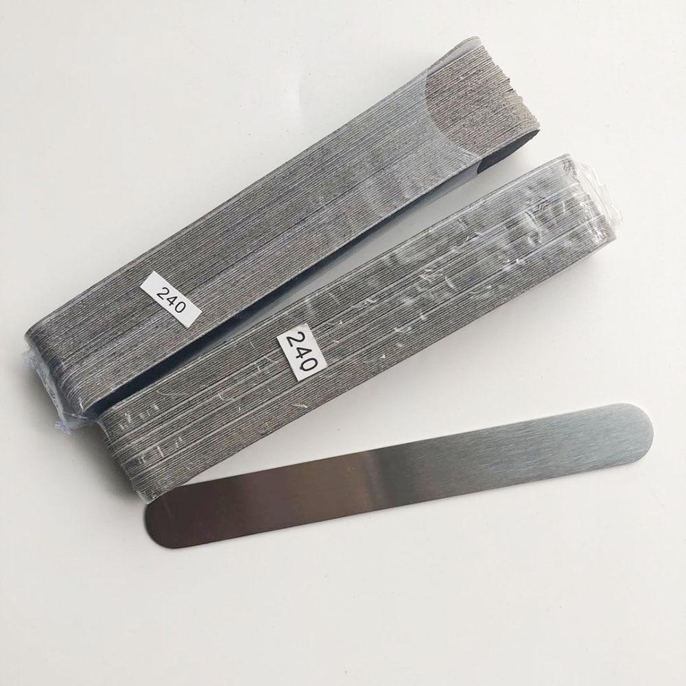 1 шт. металлическое основание с 2 комплекта (100 шт.) черный removalble колодки прочный пилочка для ногтей Сменные шлифовальные диски маленький разм...