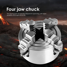 Lathe-Chuck Metal-4-Jaw Clamp Easily-Handle-Parts Collet Woodworking-Turning K72-80 Mini