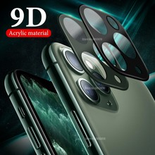 9D For iPhone 11 Pro Max luxury Acrylic Camera Lens For iPhone 11 Back Colorful Lens Film For iPhone 11 Pro Max Screen Protector(China)