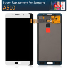 Test A510 LCD Screen for Samsung Galaxy A5 2016 A510F A510M A510FD A510 LCD Display Touch Screen Digitizer Assembly Replacement(China)