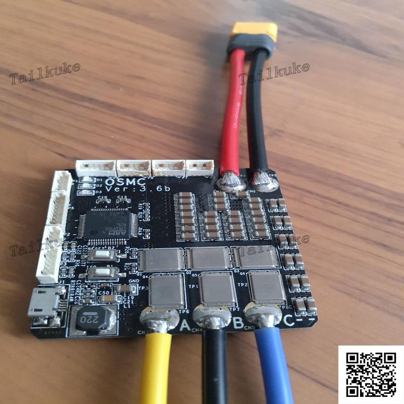 V3.6b ODrive Single-axis High-performance High-precision BLDC DRV8301 FOC Three-ring Control