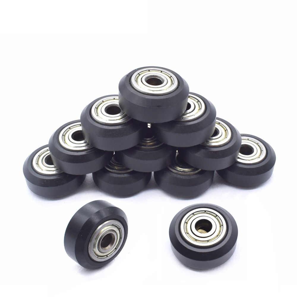 1 قطعة Openbuilds البلاستيك عجلة بوم مع 625zz المهمل بكرة والعتاد السلبي عجلة مستديرة بيرلين عجلة للطابعة I3 أندر 3 CR10 ثلاثية الأبعاد