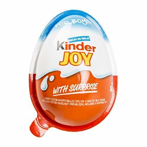 Kinder - Joy - Huevo De Chocolate Con Un Juguete - 20 G