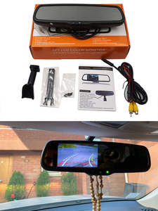 Camera-Monitor-Bracket Mirror-Screen Rear-View-Mirror-Mount Car TFT Auto-Brighenss-Change-Dimming