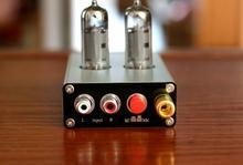 Tubo de vacío HiFi MM/MC, preamplificador de escenario Mini Clase A, Tocadiscos
