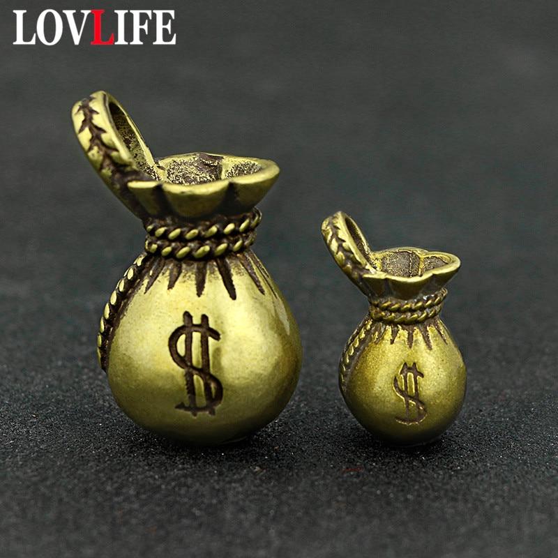 Lucky Money Bag Keychains Pendants (6)