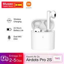 Xiaomi — Écouteurs sans fil Airdots Pro 2S Mi True, oreillettes TWS, LHDC, contrôle tactile, double micro, charge sans fil