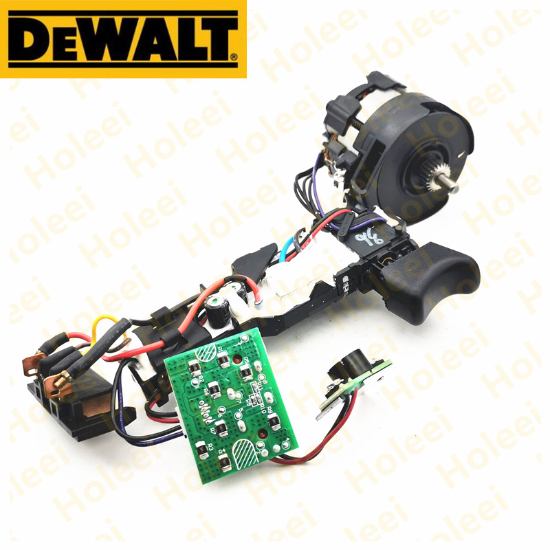 DC 18V Motor And Switch For Dewalt DCD796 DCD791 N438606 N438609 Power Tool Accessories Electric Tools Part