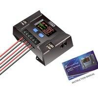 CP30A Color HD pantalla Cargador Solar controlador 10A-60A 12 V/24 V protección contra cortocircuitos inversa