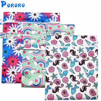 wholesale cheap price reusable pul double waterproof wet bag 15 20cm mini wet diaper rubbish bag bolso bebe baby nappy wet bag Printed Pocket Wet Bag Waterproof Reusable Nappy Bags PUL Travel Baby Nappy Mini Size Wet Dry Bags Wetbags 25x20cm Wholesale