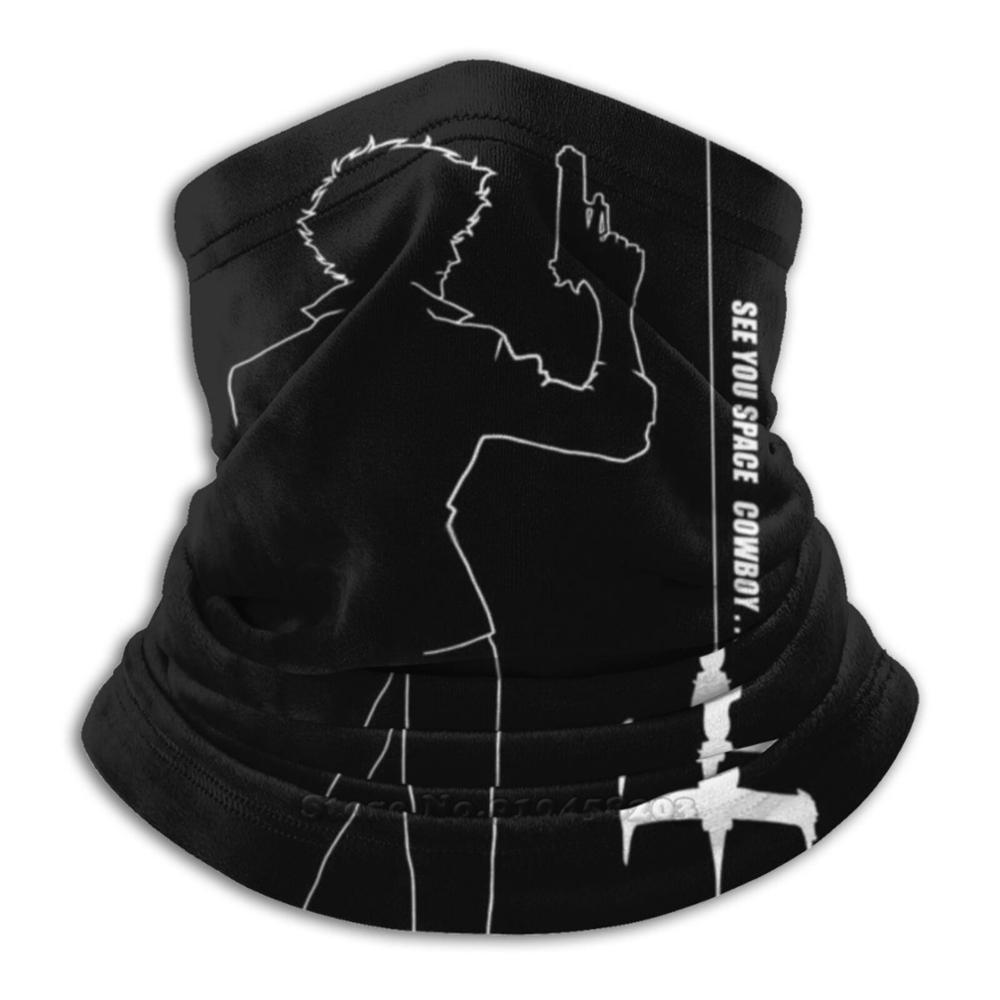 Cowboy Silhouette Scarf Neck Gaiter Warmer Headwear Cycling Mask