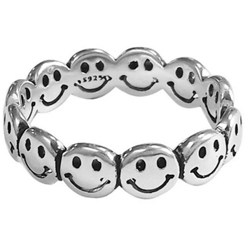 Open Rings Fashion Jewelry Best Gift Smiling Face Rings Punk Hip Hop Ring Vintage Ancient Ring Rings for Women Happy Face Rings