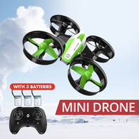 Holy Stone HS210 Mini Drone Kids Toy Infantil Drones Mini RC Quadrocopter Quadcopter Dron One Key Land Helicopter 50M Green Boy RC Helicopters     -