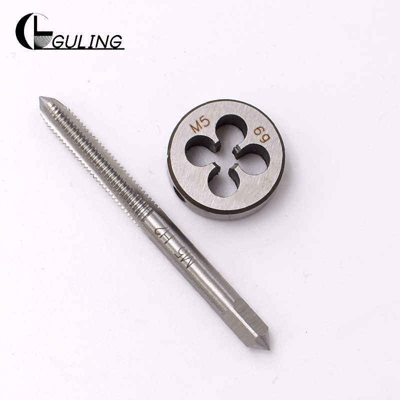 1set HSS M13x0.75 mm Right-hand Plug Tap and Die Thread Threading Tool