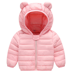 2020 Autumn Winter Warm Jackets For Girls Coats For Boys Jackets Baby Girls Jackets Kids Hooded Outerwear Coat Children Clothes(China)