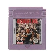 Per Nintendo GBC Cartuccia del Video Gioco Console Carta di Residen Male la Versione in Lingua Inglese