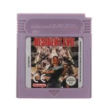 Voor Nintendo Gbc Video Game Cartridge Console Card Residen Evil Engels Taal Versie