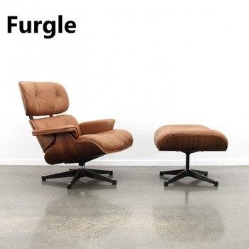 Furgle Premium Classic Lounge Chair w/ Ottoman  1