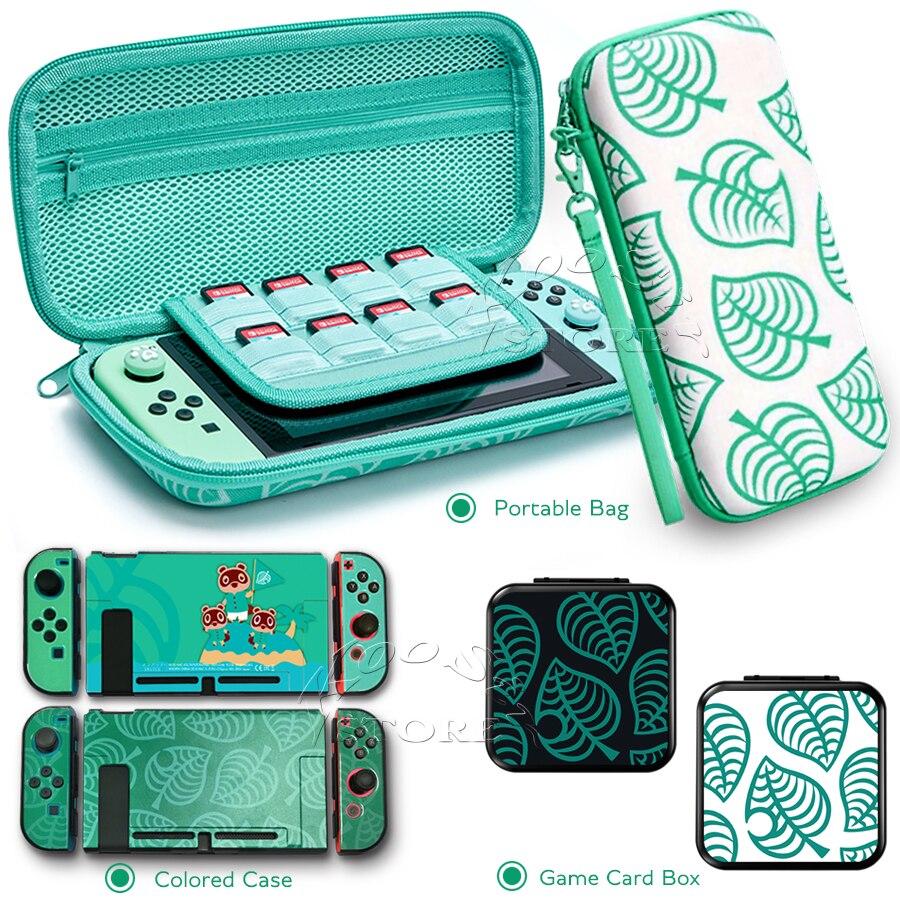 nintendo switch animal crossing case inside