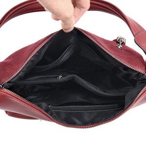 Image 5 - YASICAIDI جلد الغزال المرأة حقيبة يد بولي Tassel شرابة سستة الإناث حقيبة كتف عادية حمل السيدات حقائب اليد كيس bandouliere فام
