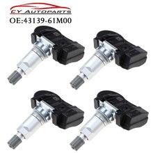 4 sztuk czujnik ciśnienia w oponach dla Suzuki Vitara SX4 s cross Ignis Baleno Swift Jimmy 43139 61M00 4313961M00 43130 61M00, 4313061M00