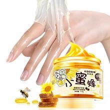 LANBENA Milk Honey Hand Mask Hand Wax Moisturizing Whitening Skin Care Exfoliating Calluses Hand Film Hands Care Cream 150g/ml цена 2017