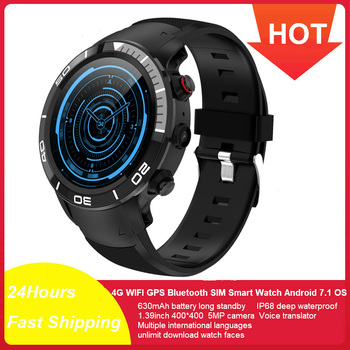цена на H8 Smart Watch Men SIM Card Sports SmartWatch GPS Support Pedometer Bluetooth 4.0 Camera Wristwatch Women for IOS Android Phone