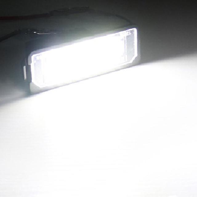Фото 2 шт светодиодный светильник для номерного знака автомобиля цена