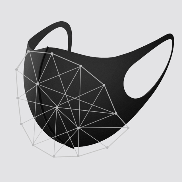10pcs Kids Children Mouth Mask For 4-11 Years Anti Pollution Mask PM2.5 Air Dust Face Masks Thin Washable Reusable Mouth Cover 2