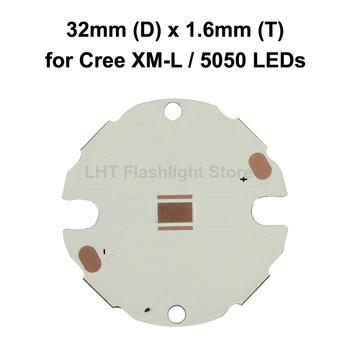 32mm (śred ) x 1 6mm (T) DTP Copper MCPCB do diod Cree XM-L 5050 tanie i dobre opinie KDLITKER LED PCB 32mm (Dia ) x 1 6mm(T)