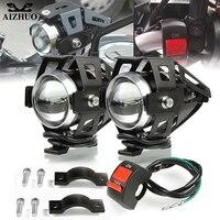 Faróis da motocicleta u5 farol holofotes luz de nevoeiro cabeça para suzuki gsr 750 gsr750 gsx1300 gsxr1000 sfv650 tl1000r