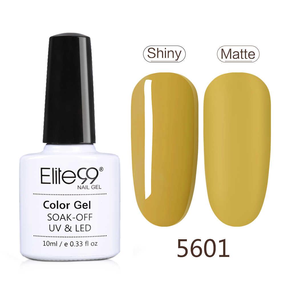 Elite99 verde 10ml esmalte de uñas de Gel de colores Vernis esmalte de uñas semi permanente UV Gel híbrido barniz esmalte laca Gel polaco