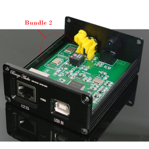 Image 3 - Alta fidelidade de áudio usb decodificador de xmos u308 chip para amplificador usb adaptador digital usb para spdif fibra óptica coaxial iis d192k 24bit