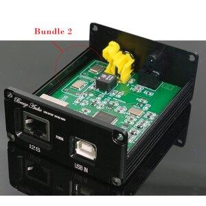 Image 3 - HiFi audio USB decoder von XMOS U308 chip für verstärker USB digital Adapter USB auf spdif koaxial Optische faser IIS d192K 24BIT
