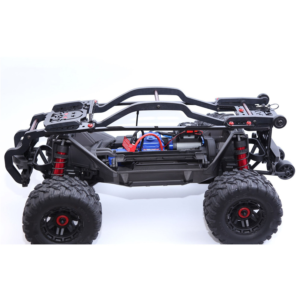 RC Car Roll Cage Metal Body Shell Based for 1:10 Traxxas MAXX Protection Frame RC Crawler Upgrade Parts Accessories