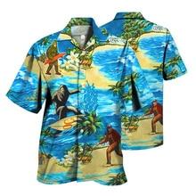2021 Summer New Hawaiian Shirt Brand Men s Harajuku Shirt Eden Men s Social Shirt Button Shirt Hanbok S 4XL Streetwear