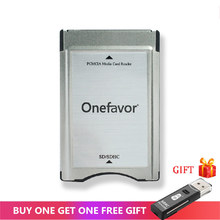Mới Store Khuyến Mãi!!!!!!!!! Thẻ SD Adapter Onefavor PCMCIA Đầu Đọc Thẻ Cho Xe Mercedes Benz MP3 Nhớ
