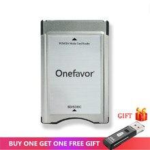 Nieuwe Winkel Promotie! Sd kaart Adapter Onefavor Pcmcia Kaartlezer Voor Mercedes Benz MP3 Geheugen